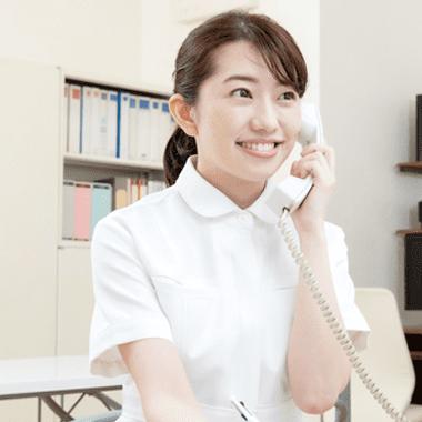 電話をとる医療事務